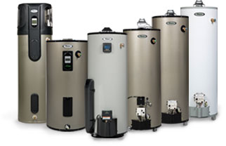 Whirlpool Family of Water Heaters